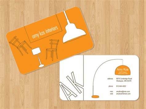 interior design business card templates free business card template interior design creative