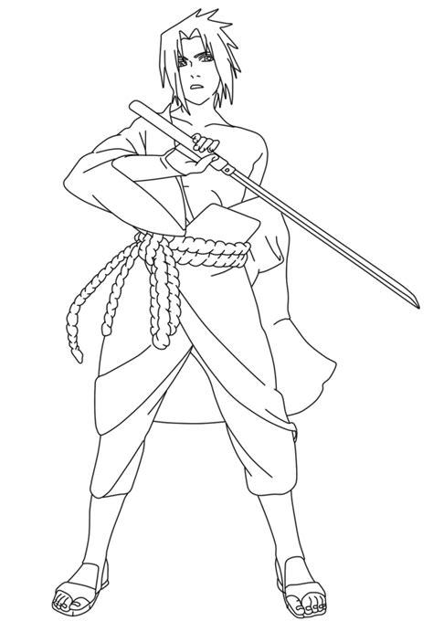 sasuke uchiha lineart by iithedarkness94ii on deviantart