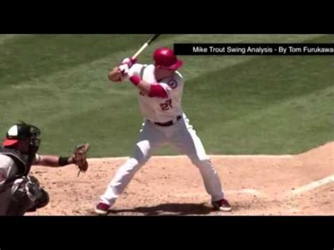 mike trout swing analysis mike trout swing analysis by coach tom furukawa youtube