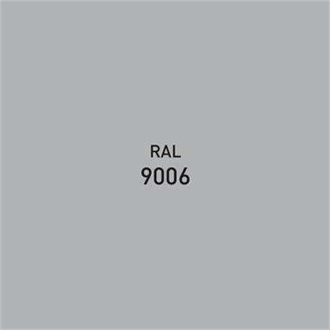 ral 9006 color palette