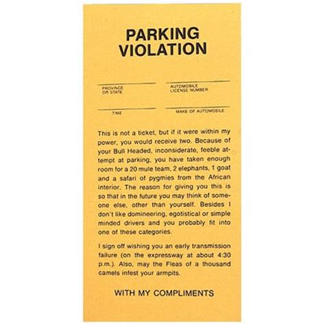 print fake parking tickets infobarrel