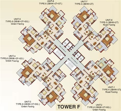 Rg Luxury Homes 1229 Sq Ft 2 Bhk 2t Apartment For Sale In Rg Luxury Homes Sector 16b Noida Extension Noida