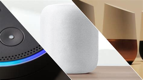 Battle Of The Smart Speakers Google Home Vs Amazon Echo | amazon echo vs apple homepod vs google home the battle of
