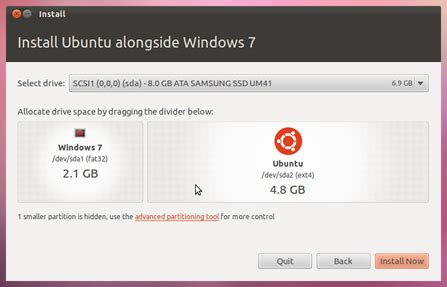 how to install windows 7 from ubuntu instalar ubuntu 11 10 oneiric ocelot paso a paso ubuntu life