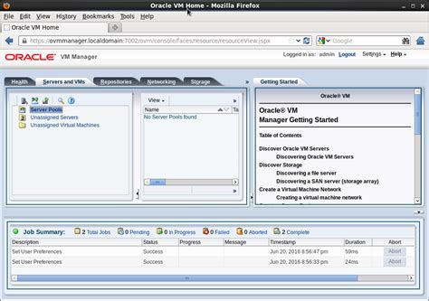 tutorial oracle vm manager oracle vm manager 3 4 1 installation on oracle linux 6