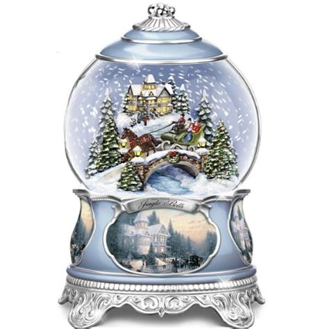 add christmas snow globes to your christmas decorations
