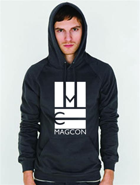 Hoodie Magcon Tour Logo Brothersapparel magcon logo hoodie gray magcontour from magcon tour things