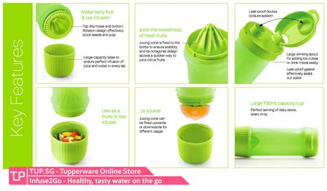 Botol Infused Water Tupperware buy tupperware singapore buy your tupperware and offline easily