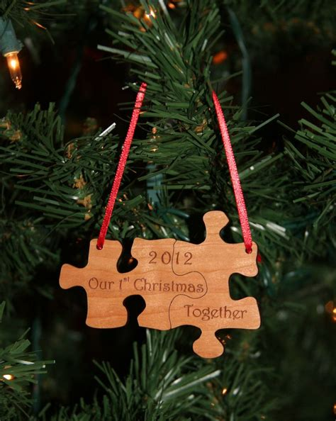 25 unique first christmas together ornament ideas on