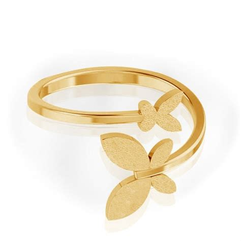 Gold Ring For by Butterfly Gold Ring Jacknjewel