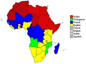 Language Map Of Africa by African Languages