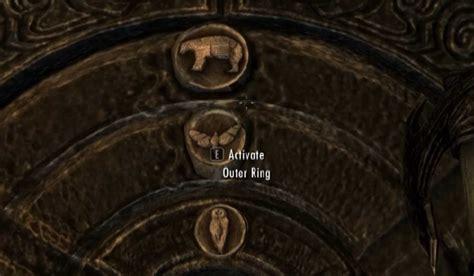 pattern to unlock door in skyrim the elder scrolls v skyrim how to use golden claw to open gate