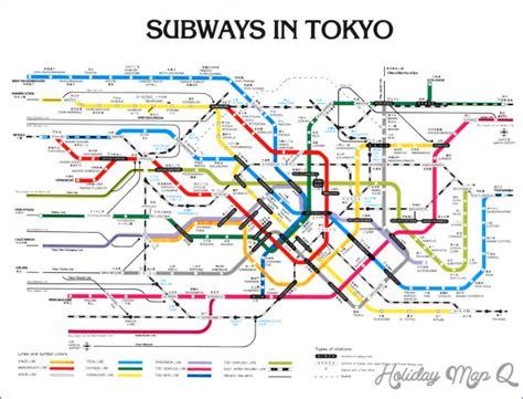 tokyo metro map tokyo subway map holidaymapq