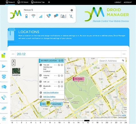 android location manager remotely manage android ios devices with droid manager