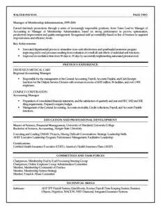 Finance Executive Sle Resume by Finance Executive Resume Exle