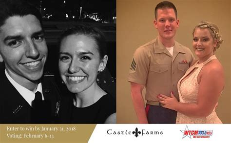 Free Military Wedding Giveaway - winners of 2018 castle farms military wedding giveaway announced