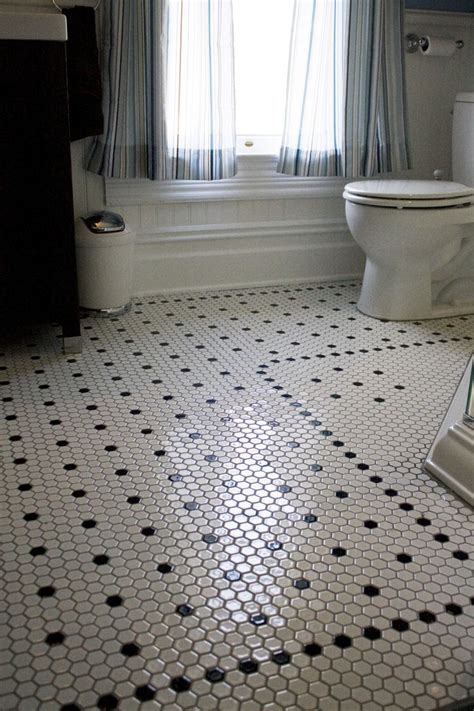 Hex Tiles For Bathroom Floors by Hexagon Tiles Bathroom