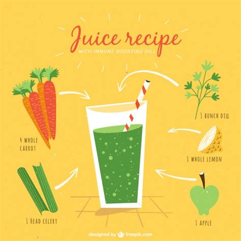 the healthy edit creative editing techniques for perfecting your books juice recipe in vintage style vector free