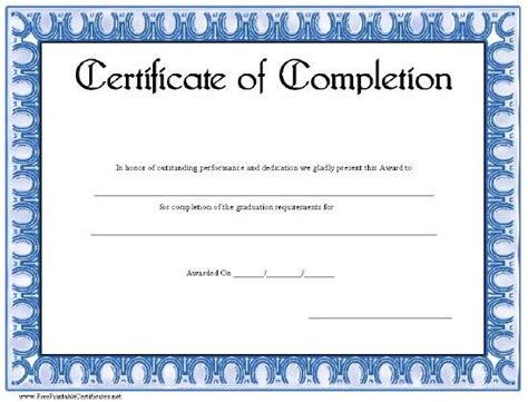 Basic Certificate Template by 1000 Images About Certificates On Printable