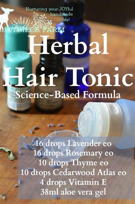 herbal hair tonic that really works joybilee 174 farm diy