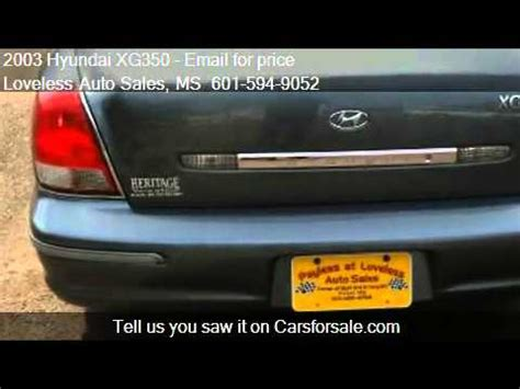 online auto repair manual 2003 hyundai xg350 electronic toll collection 2003 hyundai xg350 problems online manuals and repair information