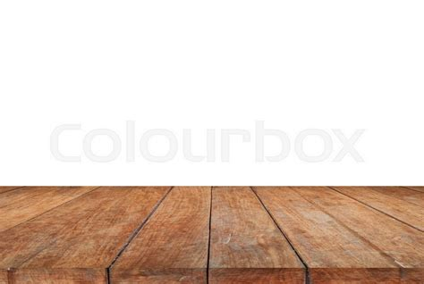 Home Floor Plans And Prices by Wood Table Top On White Background Stock Photo Stock