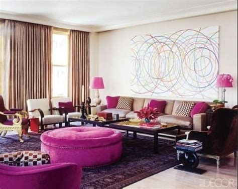 Fuschia Home Decor by Fuschia Looks Fiercely Fab In This Room Haute Home