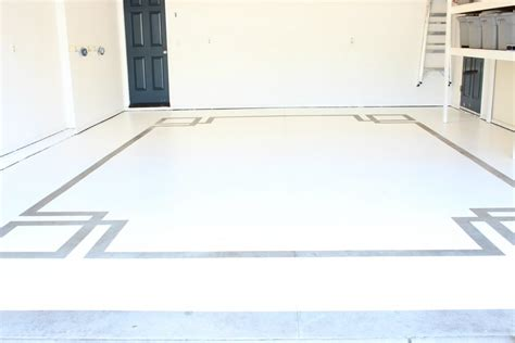how to do painted concrete floors in your garage using