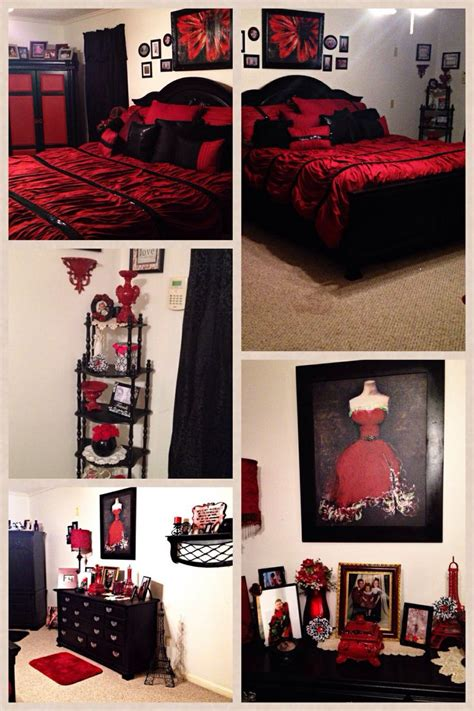 red and black paris themed bedrooms bedroom designs grey and red interior design