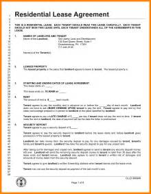 Tenancy Agreement Letter Pdf 8 Lease Agreement Template Pdf Target Cashier