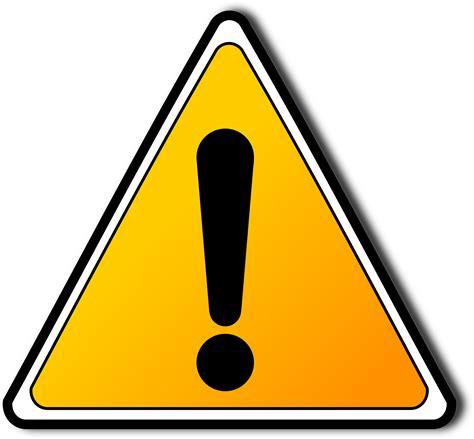 warning sign clipart warning sign
