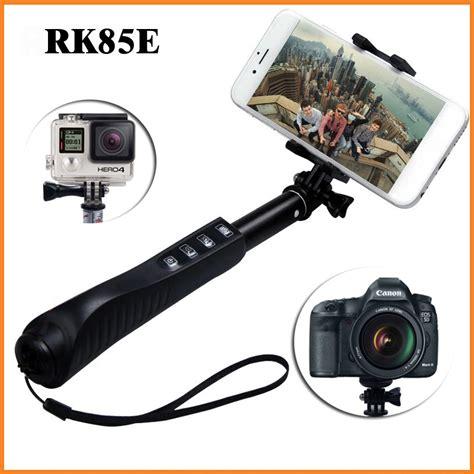palo selfie bluetooth selfie stick rk85e telescopi monopod perche selfies with gopro adaptor for