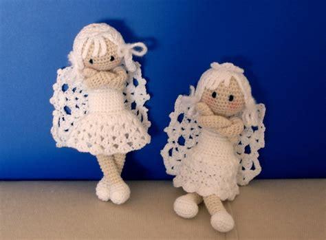 free pattern amigurumi angel wonderful diy crochet angel ornaments with free pattern