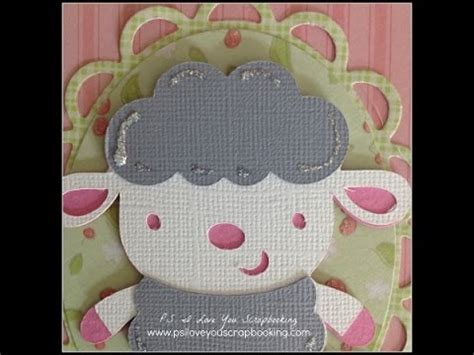 how to make a card using cricut templates handmade baby card using create a critter cricut