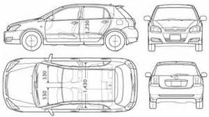 Toyota Dimensions The Blueprints Blueprints Gt Cars Gt Toyota Gt Toyota