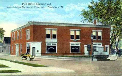 Merrifield Post Office by West Jersey History Project Postcard Images Of