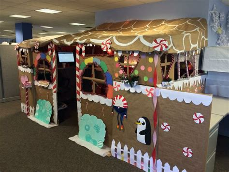 gingerbread house office cubicle decorations 17 best images about gingerbread house on disney kid playhouse and orlando