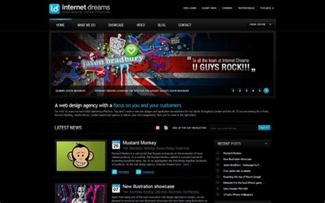 cool design inspiration sites 50 creative website designs for your inspiration cool