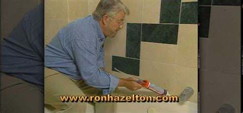 how to remove and replace bathtub caulk how to replace bathtub sealant or caulk with rob hazelton 171 construction repair