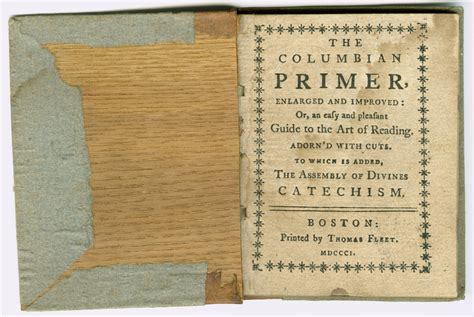 early texas documents collection 1790 1923 university early nineteenth century primer for reading lessons and