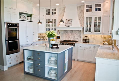 Parisian Home Decor by Whidbey Island Beach House Kitchen Remodel Beach Style