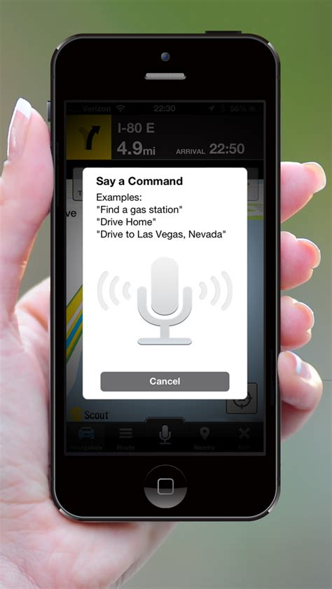 scout gps voice navigation app gets iphone 5 support iclarified