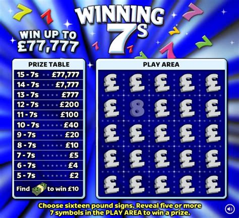 National Lottery Instant Wins - john graham cumming the utter futility of scratch card