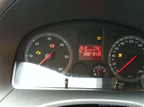 Kontrollleuchten Auto Vw Golf 6 by Vw Caddy Iii Gelbe Kontrollleuchte Vw Caddy