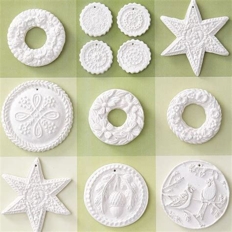 air drying clay decorations beautiful handmade ornaments polymers diy