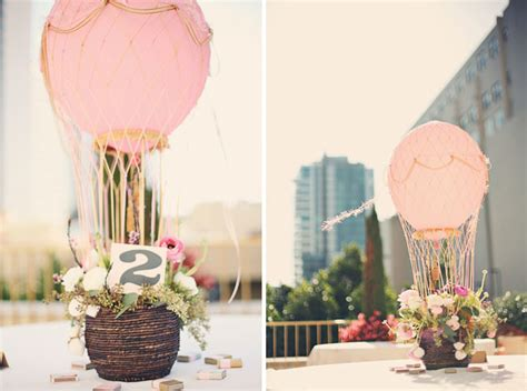 head over heels for hot air balloon wedding ideas green