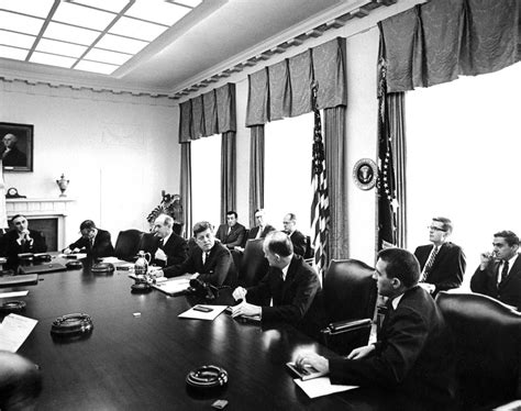 f kennedy cabinet ar6613 a president f kennedy and others attend