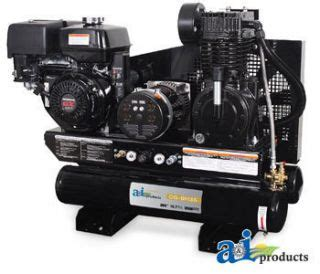 spartan industrial 208cc gas powered air compressor