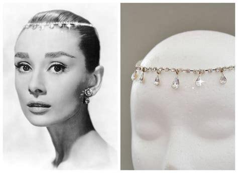 Wedding Hair Hepburn by Hepburn Teardrop Tiara Inspired Bridal Headband