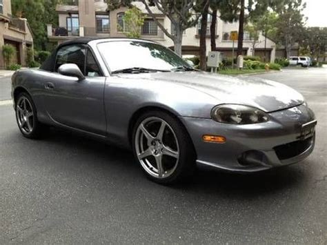 electric and cars manual 2004 mazda miata mx 5 spare parts catalogs purchase used 2004 mazda speed mx 5 1 8l factory turbo 6 speed manual only 50k miles in lake